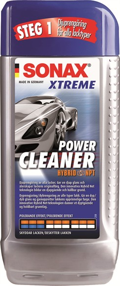 sonax xtreme power cleaner wax 3 autoload st rst p. Black Bedroom Furniture Sets. Home Design Ideas
