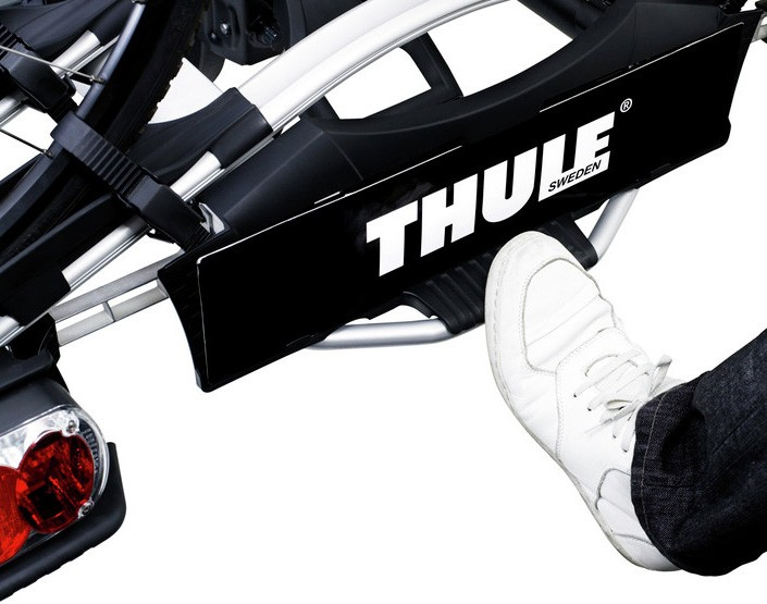 thule 923 g2 euroway 3 sykler autoload st rst p takstativ takboks sykkel skiholdere. Black Bedroom Furniture Sets. Home Design Ideas