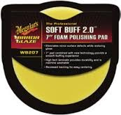 Meguiar´s Softbuff Foam Cutting Pad gul
