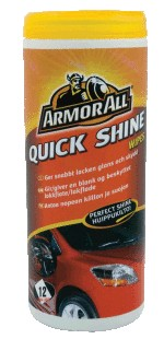 ARMOR ALL Quick Shine Wipes