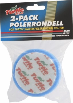 Turtle Wax Polérrondell Blå 100mm 2-pk