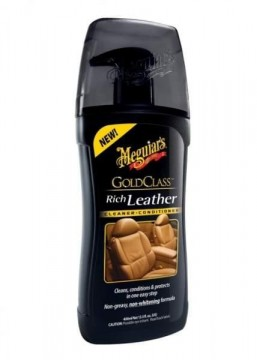 Meguiar´s Gold Class™ Rich leather cleaner/conditioner