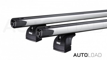 Thule 751 SlideBar takstativ - Komplett - Berlingo 4/5dr Van 2008-2018 Fixed Points