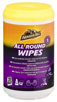ARMOR ALL Round Wipes