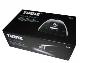 Thule 7511 - Fotsats for biler med flush railing (2 føtter)
