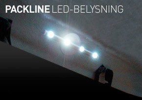 Packline LED lampe