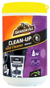 Armor All Clean-Up Hand Cleaner Wipes