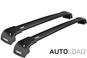 Thule Wingbar Edge Flush/Fix SORT -  Komplett-  Audi Q5 2008-2016