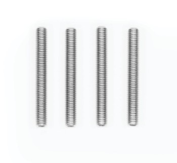 Grubscrew M6 x 50mm x 4