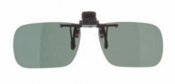 Solbrille til briller - Flip Up Polarized Clip On Universal